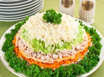 салат весенний день на выходные