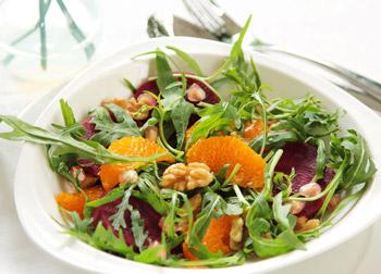 салат весенний фруктовая свежесть