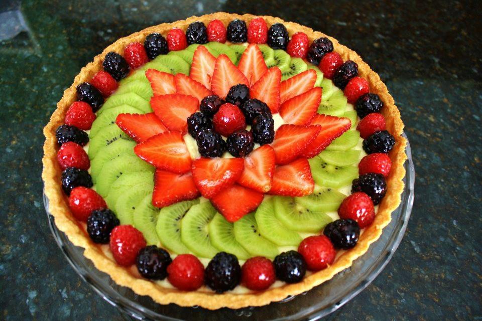 фруктовая нарезка, ягоды
