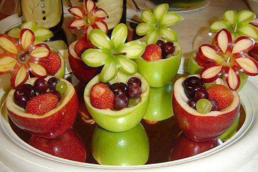 фруктовый салат красивый