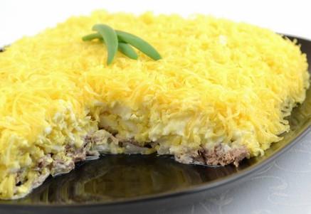 салат сытный мясной