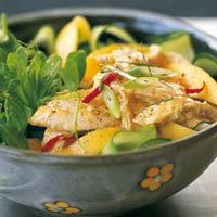салат из курицы в год петуха, новогодний рецепт