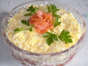 салат из семги