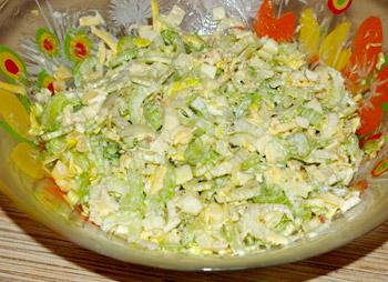 салат сельдерей