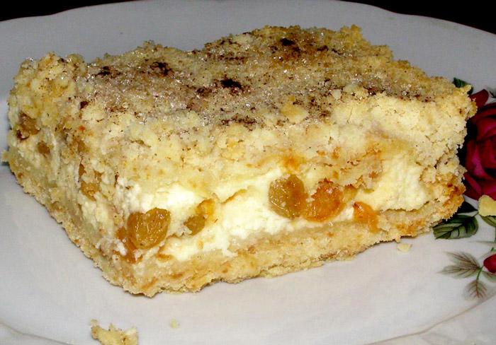 рецепт песочного торта с творогом, десерт, рецепт выпечки