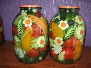 закрутки на зиму, закатки, салат на зиму, салат осенний