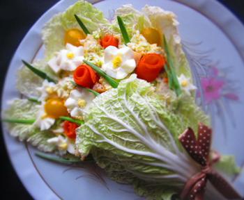 салат из пекинской капусты для любимой