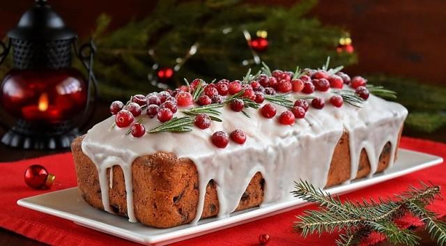 новогодний кекс рецепт