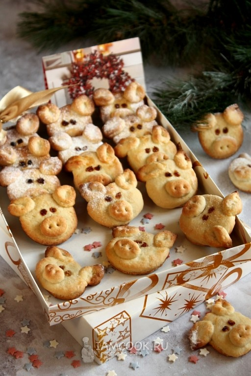 выпечка на год свиньи