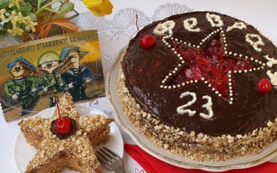 рецепт торта на 23 февраля