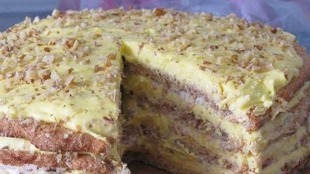 рецепт торта Египетский