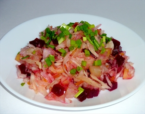 Салат бокер (Salade Beaucaire)