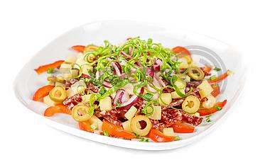Салат из салями
